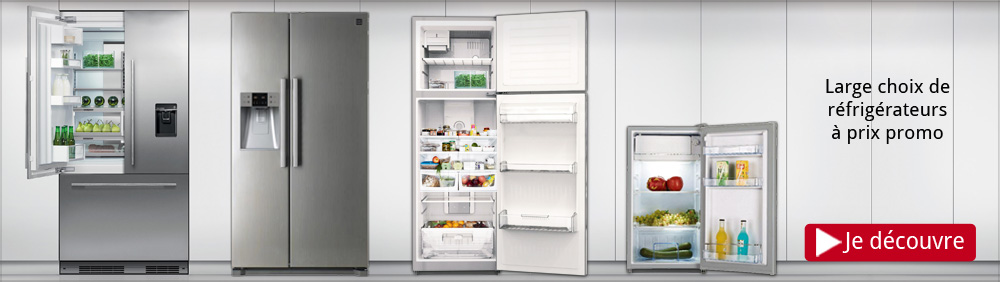 Réfrigérateur promo