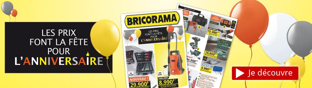 Catalogue Anniversaire Bricorama 2017