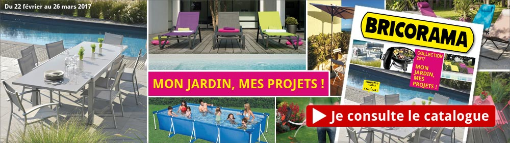 Catalogue Mon Jardin Bricorama 2017