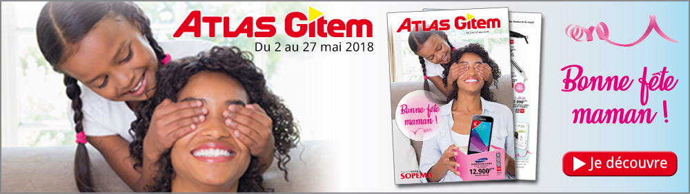 Catalogue Bonne fête maman 2018 Atlas-Gitem