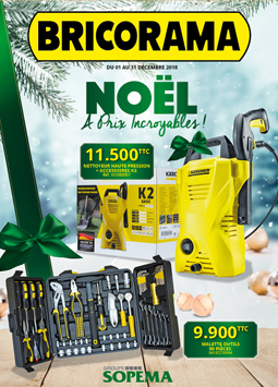 couverture Noel Bricorama